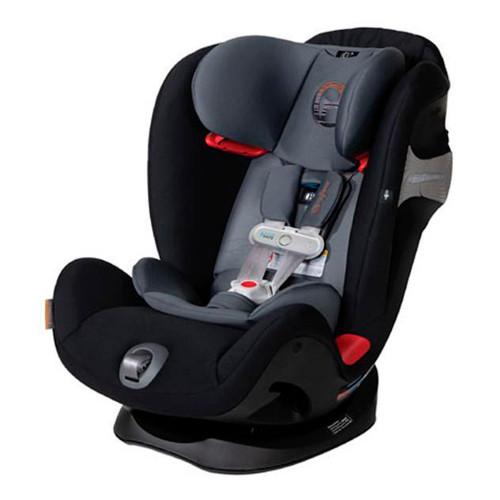 Cybex Eternis S SensorSafe Convertible Car Seat - Pepper Black