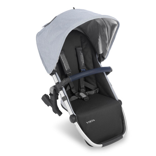 UPPAbaby Vista 2019 Rumbleseat - William (Chambray Oxford/Navy Leather)