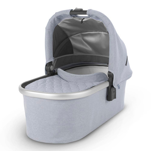UPPAbaby Vista/Cruz 2019 Bassinet - William (Chambray Oxford/Navy Leather)