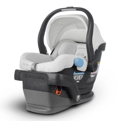 UPPAbaby Mesa Car Seat - Bryce (White Marl/Chestnut Leather)