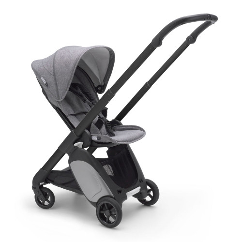 Bugaboo Ant Complete Compact Stroller - Grey Melange with Black Frame