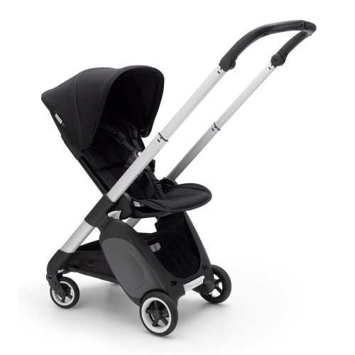 Bugaboo Ant Complete Compact Stroller - Black with Aluminum Frame