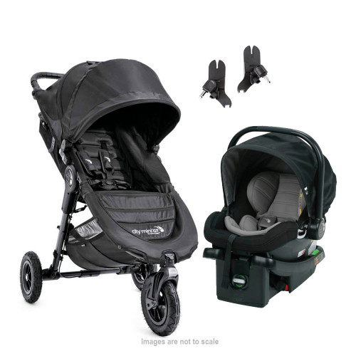 Baby Jogger City Mini GT and City Go Travel System - Black