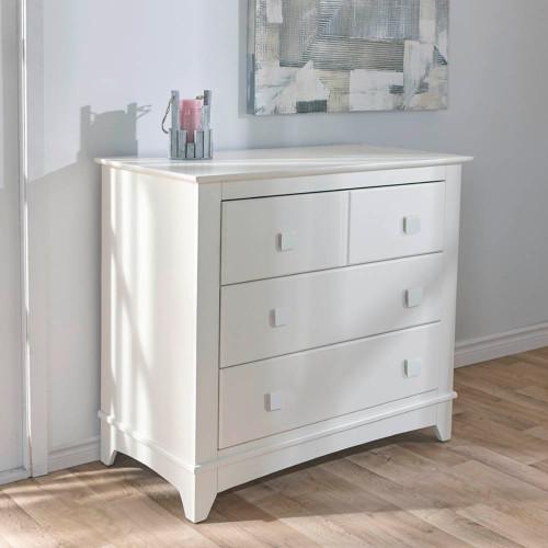 Pali 3-Drawer Dresser - White