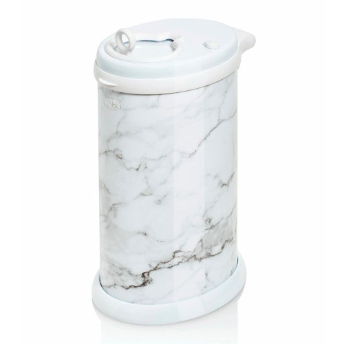 UBBI Stainless Steel Diaper Pail - Marble