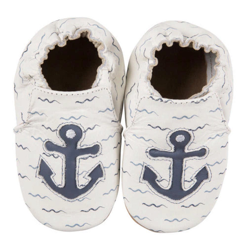 Robeez Soft Soles Slippers - On Board (6-12 Months)