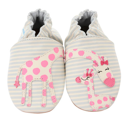 Robeez Soft Soles Slippers - Reach for the Stars (12-18 Months)