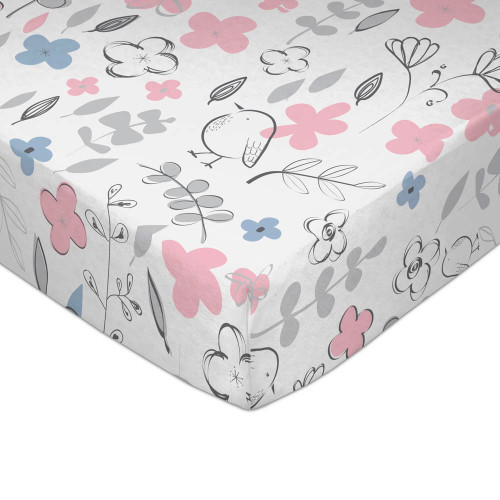 Lolli Living Mazie Collection Fitted Crib Sheet - Mazie