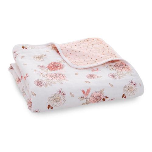 Aden + Anais Classic Dream Blanket - Dhalias