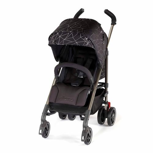 Diono Flexa Luxe Compact Stroller - Black Platinum