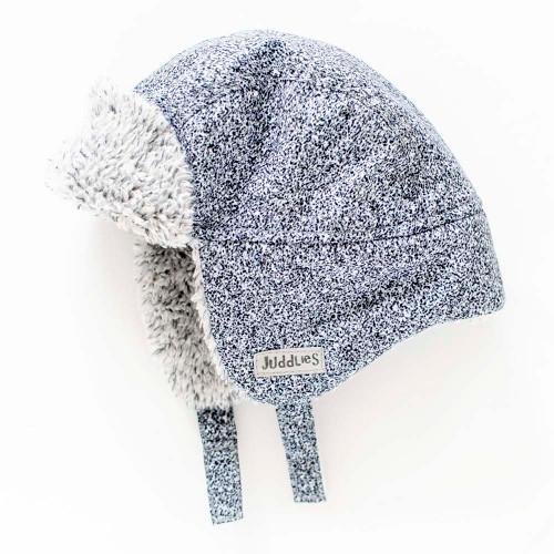 Juddlies Winter Hat - Salt&Pepper Grey (0-6 Months)
