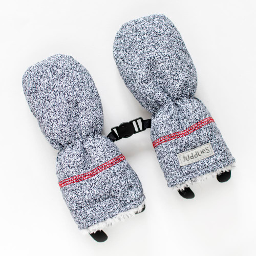 Juddlies Winter Mitts - Salt&Pepper Grey (0-6 Months)
