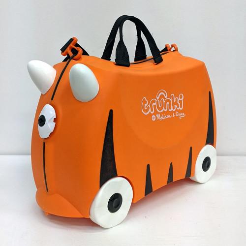 Trunki Ride On Suitcase - Tipu Tiger (Open Box)