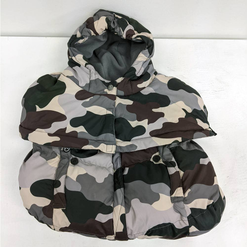 7 A.M. Pookie Poncho - Camo Forest (Open Box)