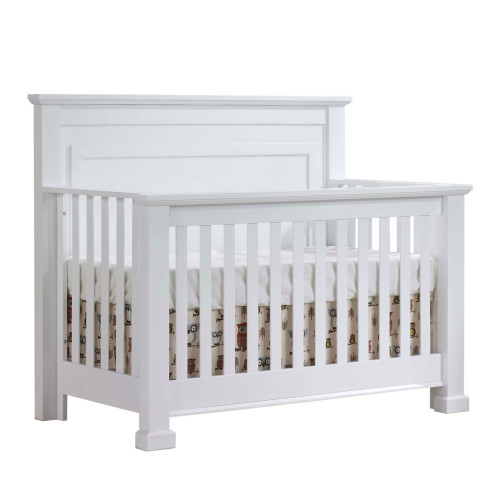 Natart Taylor 5-in-1 Convertible Crib - White
