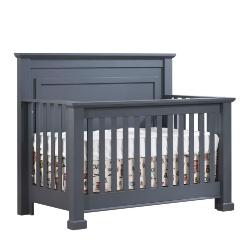 Natart Taylor 5-in-1 Convertible Crib - Graphite