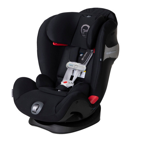 Cybex Eternis S SensorSafe Convertible Car Seat - Lavastone Black