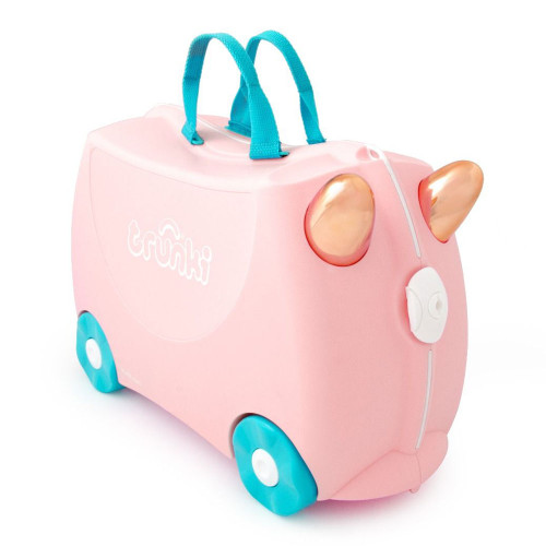 Trunki Ride On Suitcase - Flossi the Flamingo