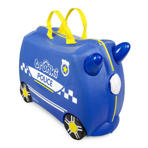 Trunki Ride On Suitcase - Percy the Police Car