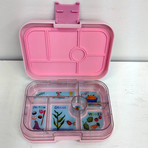 Yumbox Original 6-Compartment Lunch Box - Hollywood Pink (Open Box)