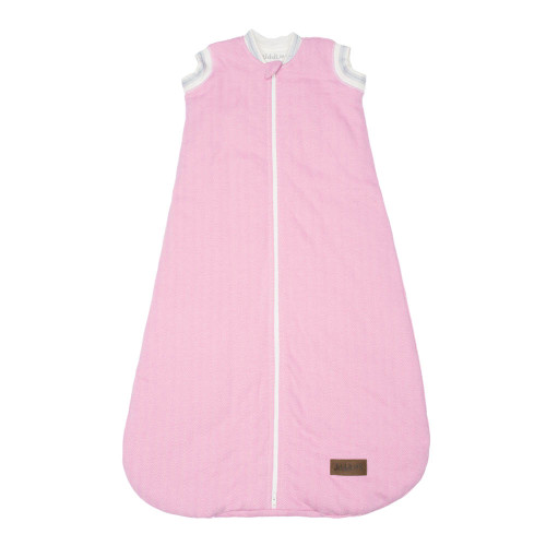 Juddlies Organic Cotton Cottage Dream Sack - Sunset Pink (0-6 Months)