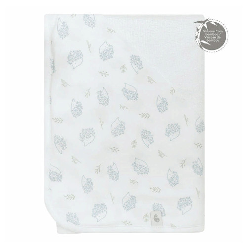 Perlimpinpin Bamboo Hooded Towel - Porcupines