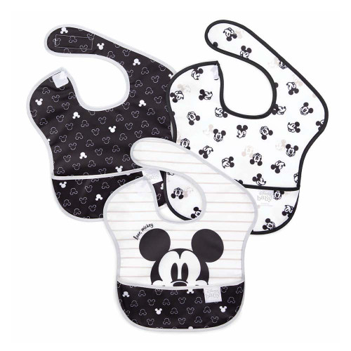 Bumkins SuperBib 3-Pack - Mickey Mouse