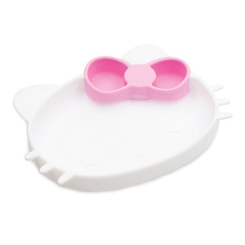 Bumkins Silicone Grip Dish - Hello Kitty