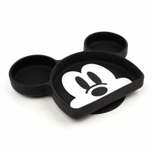 Bumkins Silicone Grip Dish - Mickey Mouse