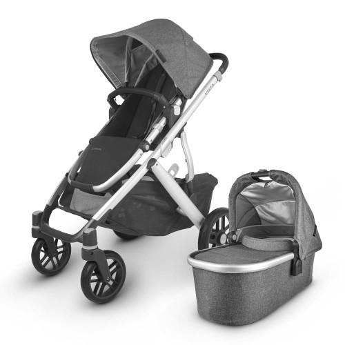 UPPAbaby Vista V2 Stroller - Jordan (Charcoal Melange)