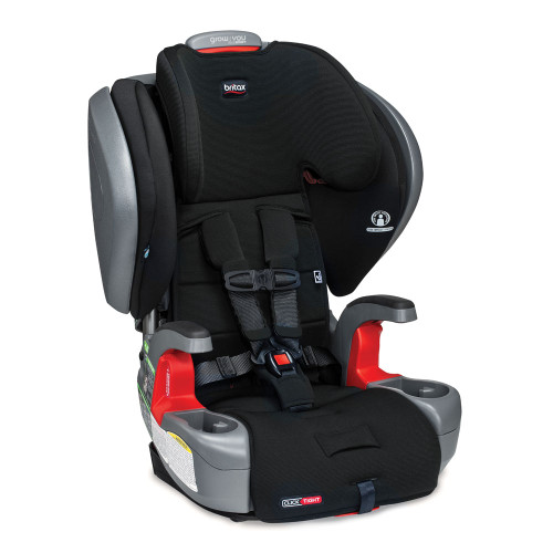 Britax Grow With You ClickTight Plus Harness-to-Booster Car Seat - Jet SafeWash Exclusive Collection