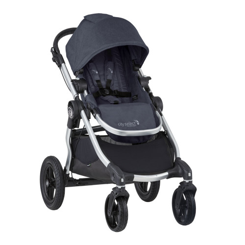Baby Jogger City Select Stroller - Carbon with Silver Frame