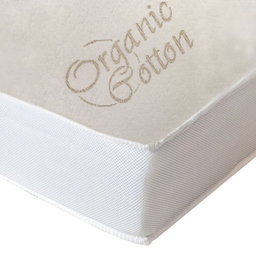 Simmons 2-in-1 Crib Mattress with Organic Cotton Cover - Sunstone
