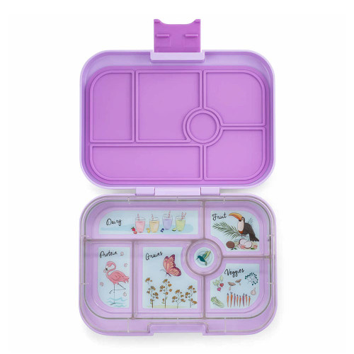 Yumbox Original 6-Compartment Lunch Box - Lila Purple