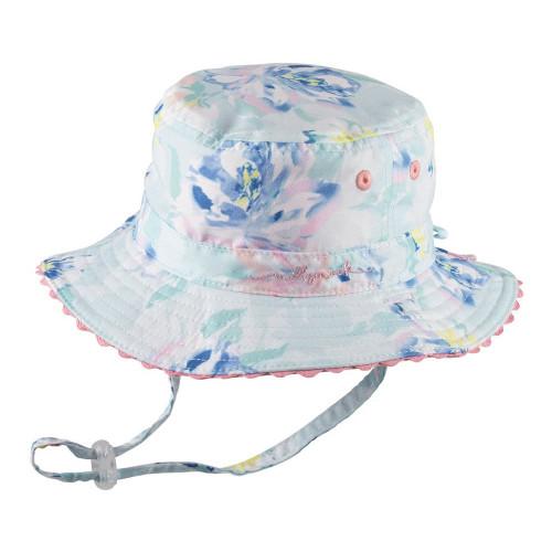 Milly Mook Reversible Bucket Hat - Blush (SM)