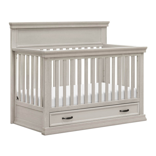 Franklin & Ben Langford 4-in-1 Convertible Crib - London Fog