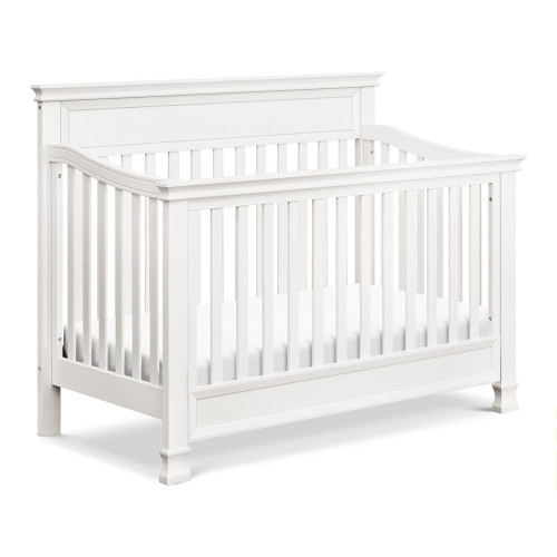Million Dollar Baby Foothill 4-in-1 Convertible Crib - Warm White