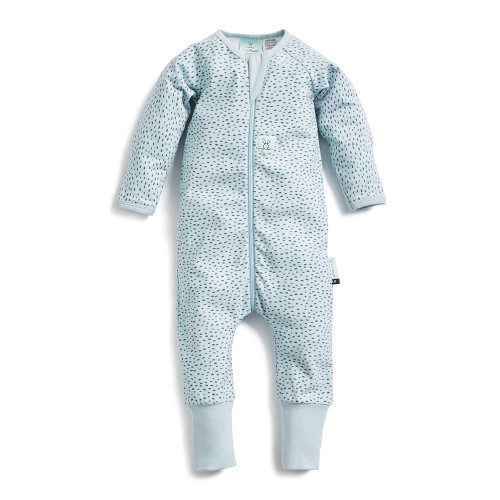 ErgoPouch Long Sleeved Organic Cotton 0.2ToG Sleeper - Pebble (3-6 Months)