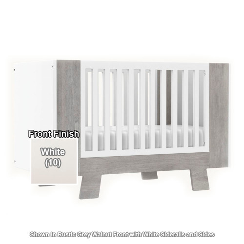 Dutailier Pomelo 3-in-1 Convertible Crib - White