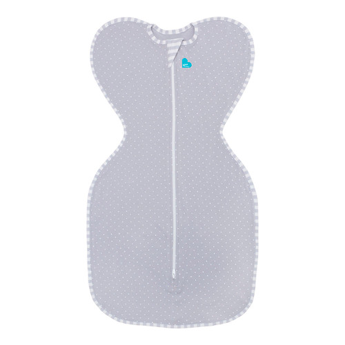 Love To Dream Swaddle UP Lite 0.2 TOG - Grey (Small 7-13 lbs)