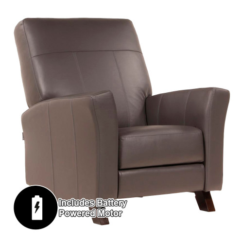Dutailier Comfort Concerto Glider with Integrated Footrest and Battery Powered Motor - Premium Fabrics