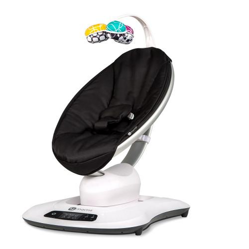 4Moms MamaRoo 4.0 Bouncer - Black Classic Seat