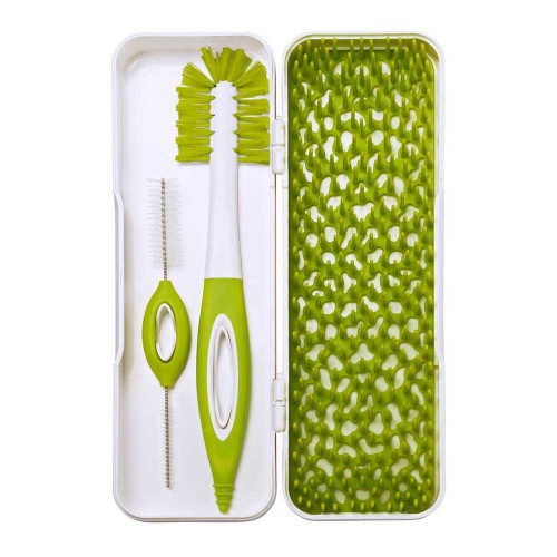 Boon Trip Travel Drying Rack & Brush