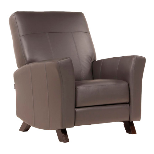 Dutailier Comfort Concerto Glider with Integrated Footrest - Leather Match Fabrics