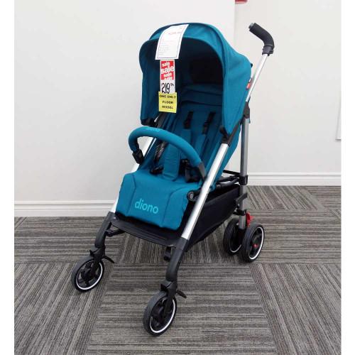 Diono Flexa Compact Stroller - Blue Turquoise (Floor Model)