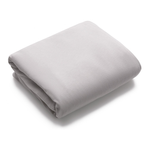 Bugaboo Stardust Fitted Cotton Sheet - Mineral White