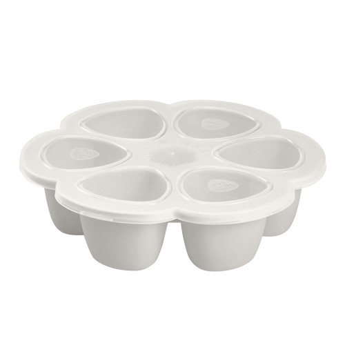 Beaba Multiportions 3oz Silicone Tray - Cloud