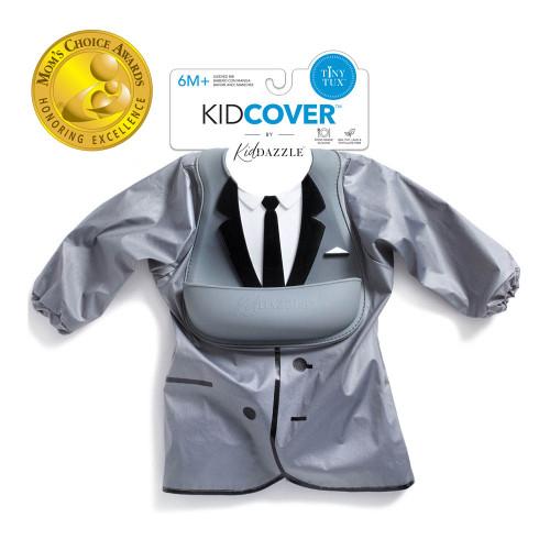 KidDazzle KidCover Smock Bib - Tiny Tux