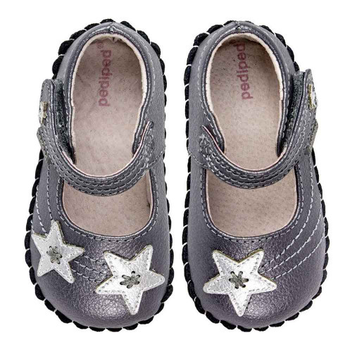 PediPed Starlite - Pewter Extra Small (0-6 Months)