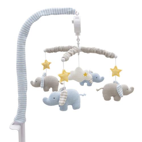 Living Textiles Musical Mobile - Mason Elephant